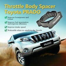 Aluminum POWERAID Throttle Body Spacer for Toyota Land Cruiser Prado 2.7 Grey