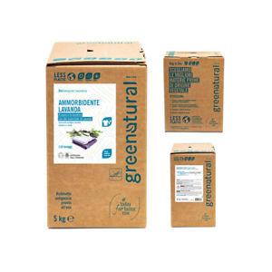 GREENATURAL BAG 5 Kg Eco Ammorbidente Lavanda - ecobio