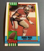 BUBBA PARIS 1990 TOPPS FOOTBALL CARD # 27 B8382