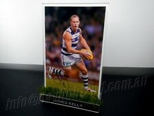 ✺Signed✺ JAMES KELLY Photo & Frame PROOF COA Geelong Cats AFL 2019 Guernsey
