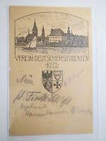 Kiel - VDSt / Verein Deutscher Studenten - Wappen / Studentika