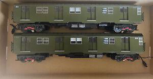 Lionel New York NYC R-27 Subway Train MTA TA Transit 2 Car Add On Set 6-18378