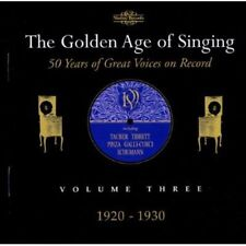 Various Artists - Golden Age of Singing 3: 1920-1930 / Various [New CD]