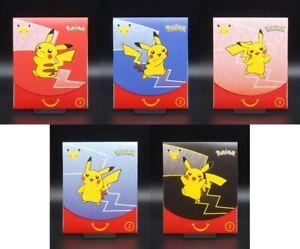 Pokemon McDonalds Booster Karten 2021 Promo 25 Jahre Jubiläum Englisch