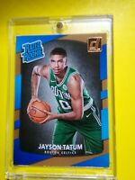 2017-18 Jayson Tatum Donruss #198 Rated Rookie True RC Boston Celtics STAR