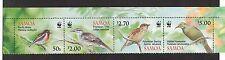 Samoa 1126 a - d - Birds. Strip Of 4. MNH OG.   #02 SAMO1126