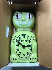 New ListingLimited Edition Lt Green Neon 2009 Kit-Cat Klock Kitty mint new pearl necklace