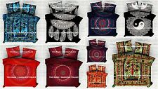 India Mandala Bed Sheet Bohemian Cotton Bed Sheet Throw Bedding Queen Coverlet