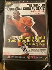 Traditional Shaolin Kung Fu Dvd Eight Step Interlink Quan Babu Lianhuan