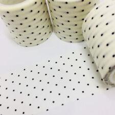Polka Dot Black Scrapbooking Tapes