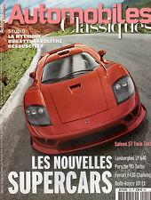REVUE MAGAZINE AUTOMOBILES CLASSIQUES N°155 07/08 2006 LAMBORGHINI PORSCHE ROLLS