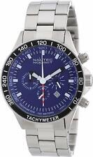 Nautec No Limit Men's Quartz Watch Racing 2 RS2 QZ2/STSTSTBL with Metal Strap