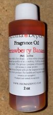 Aroma Depot Oil Fragrance Candle/Soap Making AlcoholFree 2oz, Strawberry Banana