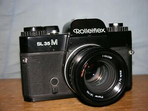 Rolleiflex SL35M Camera with Rollei HFT Planar 50mm f 1.8 Lens #4803706