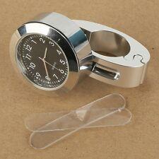 "7/8"" 1"" Handlebar Hand Bar Mount Dial Clock Watch For BMW F650GS K1 100LT 100RS"
