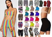 LADIES CYCLING SHORTS FOR CASUAL WEAR & GYM/RUNNING LEGGINGS SIZES 8-22∣23K SOLD