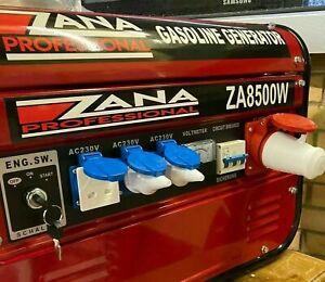 Zana professional gasoline 8500w generator