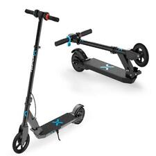Electric Motor Scooter Solid Tire 9mph Speed Mechanical Brake Kid Transportation