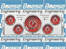 40 41 42 43 44 45 46 Chevy Truck Billet Aluminum Gauge Panel Dash Insert Cluster