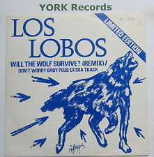 "LOS LOBOS - Will The Wolf Survive - Excellent Con 10"" Single London LASHT 4"