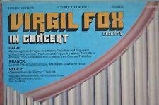VIRGIL FOX - Organist in Concert SQN 146/3 Three album set....classical...1974