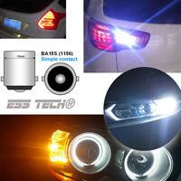 Ampoule LED BA15S lampe 1156 COB Blanc ESS TECH feux Stop Clignotant Position