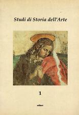 Studi di storia dell'arte. A cura di Filippo Todini. Ediart. 1991. DD5