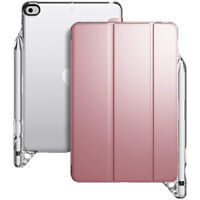 Poetic For iPad Mini 5 Tablet Smart Case,Leather Tri-fold Flip Cover Rose Gold