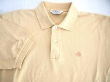 Brooks Brothers Golden Fleece Mens Golf Polo Shirt M Collar Short Sleeve Yellow