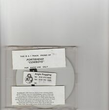 Portishead-Cowboy UK promo cd single