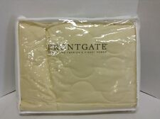 "Frontgate Washable Down Queen Bed Comforter Blanket Sofa Throw  Harvest 94""x104"""