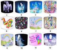 Arthouse Princess Fairies Unicorn Lampshades, Ideal To Match Unicorn Curtains.