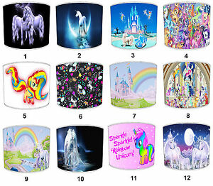 Arthouse Princess Fairies Unicorn Lampshades Ideale da Abbinare Copripiumini