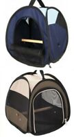Free-Fly Trixie Bird Carrier Transport Travel Case Carry Box Bag With Perch