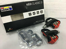 LOOK KEO Classic 3 Road Clipless Pedal (Black-red)