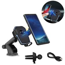 US 2in 1 FDGAO 10w Qi Wireless Fast Car Charger Bracket Holder for iPhone XS X 8