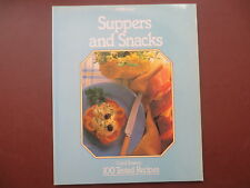 Vintage Cook Book SUPPERS & SNACKS Cooking Recipes RETRO St Michael 1980s