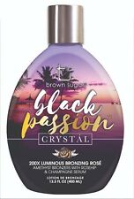 Tan Inc. Brown Sugar Black Passion Crystal Tanning Lotion with Dark Tan Bronzer