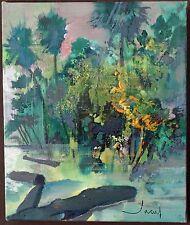 Peinture sur toile de J.T. Jacus