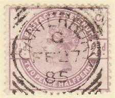 GB QV 1884 2.5d Lila CL SG190 Gu