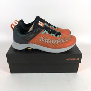 Merrell MTL Long Sky Trail Running Shoes Mens Size 11.5 Orange J066223
