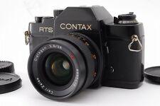 【Near Mint】Contax RTS  w/ Carl Zeiss Distagon 28mm F/2.8 AEJ Lens From Japan#83