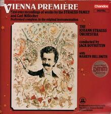 Johann Strauss Orchestra(Vinyl LP)Vienna  Premiere-Chandos-LBRD 009-UK-VG/Ex