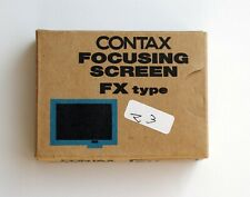 CONTAX N Focusing Screen FX-2 + case