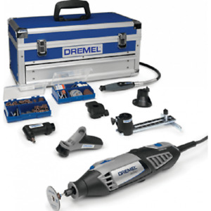 Dremel 4000 Platinum Kit Multi Tool Kit 240v In Case 3 pin uk plug F0134000KF
