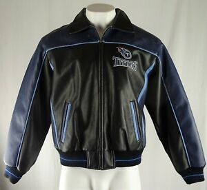 Tennessee Titans NFL G-III Men's Full Zip Leather Jacket