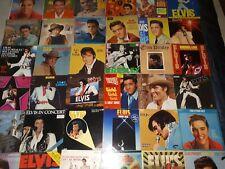 LOT 317 RECORDS 33/45/78 RPM ELVIS PRESLEY/PHOTOS/BOOKLETS/BOX SET