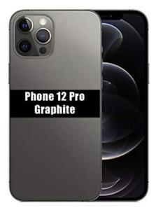 """[Factice] Apple iPhone 12 Pro - 6,1"""" - Graphite - Réplique Téléphone Factice"""
