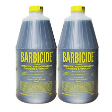 2 Bottles of Barbicide Disinfectant Concentrate 64 oz #5oa0