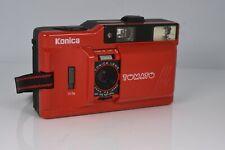 New ListingKonica Tomato Point & Shoot 35mm Film Camera Nice